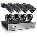 zosi®8ch 720p CCTV DVR 8pcs 1.0mp sustav sigurnosnih kamera sa 1TB HDD