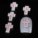 10ks třpytky přes kutilství slitiny růžové drahokamu příslušenství nail art dekorace