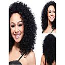 Vysoce kvalitní Afričan černá paruka módní styl vysoká teplota drátu krátké kudrnaté vlasy paruka