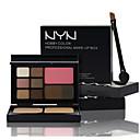 nyn® oční stíny&prášek&zrudnout&obočí make-up set