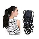 Novi modni dugo valovita sintetička drawstring rep isječak proširenje kovrčave kose