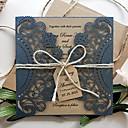観音折り 結婚式の招待状 ブライダルシャワー・カード 婚約披露パーティー・カード 招待状カード 招待状サンプル 母の日のカード ベビーシャワー・カード-50 ピース/セット ビンテージ エンボス紙