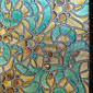 幾何学図形 クラシック風 ウィンドウフィルム,PVC /ビニール 材料 窓の飾り