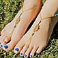 Nakit za tijelo/Kratka čarapa Sandale od nakita Legura Others Jedinstven dizajn Moda Zlatna 1pc