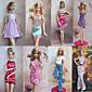 Party/Večírek Šaty Pro Barbie Doll Růžová Šaty Pro Dívka je Doll Toy