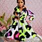 パーティー/イブニング ドレス ために バービー人形 ホワイト / ブラック / ライトグリーン トップス のために 女の子の 人形玩具