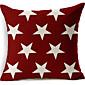 zvijezde pamuka / lana dekorativni jastuk poklopac