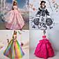 Princeza Haljine Za Barbie lutka Ljubičasta / Roza Haljine