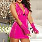 Sweet Girl Pink Sheer Nightwear Sexy Uniform