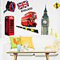 environmentální odnímatelný kutilství kus Londýně pvc stěny štítku