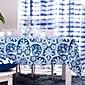 blue tiskani stolnjak