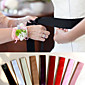 9 Color Pure Simple DIY Bowknot Satin Wedding/Party Sash