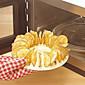 velikih dimenzija pečeni krumpir čip izrađivač pržionica snack kavu posuda za pečenje 20,5 * 20,5 * 4,5 cm