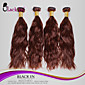 "4 kom dosta 12 ""-30"" brazilski prirodni val djevičansko kose potki neprerađeni čokoladno smeđe kose tkati splet ljudskog besplatno"