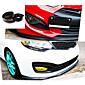 nieuwste 2.5m / roll auto styling meerdere deflector universele voorste lip bumper spoiler exterieur auto-accessoires