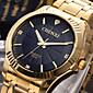 CHENXI® Pánské Náramkové hodinky Křemenný Japonské Quartz Nerez Kapela Luxusní Zlatá Zlatá Černá Stříbrná