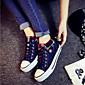 Ženske cipele - Modne tenisice - Aktivnosti u prirodi / Ležerne prilike - Platno - Ravna potpetica - Udobne cipele / Zaobljene cipele -