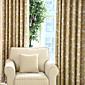 Dvije zavjese Prozor Liječenje Zemlja Moderna Neoclassical Mediterranean Rococo Barroco Europska Dizajnerske Bedroom Polyester Materijal