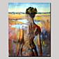 Ručno oslikana ljepota akt vratiti sažetak portret modernog ulje na platnu, platno jedna ploča s okvirom spreman za objesiti 80x120cm