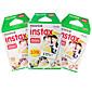 Novi FUJIFILM instax mini Film 30 listova običnog rub Instant slika za kamere mini 7s 8 25 50s 90