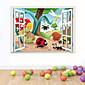 動物 / 植物の / カートゥン / ロマンティック / ファッション / ホリデー / 風景画 / 形 / ファンタジー / 3D ウォールステッカー 3D ウォールステッカー , PVC 69cm x 49m ( 27in x 19in )