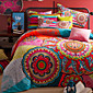 Cvijetan Poplun Cover Sets 4 komada Pamuk Silk/Cotton Blend Uzorak Reactive Print Pamuk Silk/Cotton Blend Bračni1pc duvet Cover 2kom