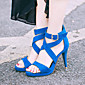 Ženske cipele-Sandale-Formalne prilike / Ležerne prilike / Zabava i večer-Umjetna koža-Stiletto potpetica-Ravne platformke / Gladijatorke