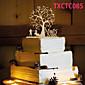 Figurky na svatební dort Nepřizpůsobeno Klasický pár Pryskyřice Svatba Žlutá Motýlí motiv 1 OPP
