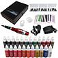 solong tetování permanentní make-up kit tetování pen obočí na rty přístroj nastaven 23 make-up barvy ek707-5