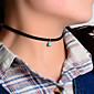Žene Choker oglice Ogrlice s privjeskom Legura Moda Simple Style Plava Zlatan Jewelry Party Dnevno Kauzalni 1pc