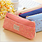 Korea Stationery Tian Yuanqing New Small Floral Double Zipper Pencil Case Stationery Bags