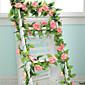 """1 Podružnica Polyester Plastika Roses Zidno cvijeće Umjetna Cvijeće 250 (98.4"""")"""