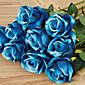 1 1 Větev Umělá hmota Růže Květina na stůl Umělé květiny 20inch/51cm
