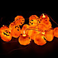 16pcs / set Halloween bundeve rekvizite ukras bundeve lampa Halloween party dekoracija niz bundeve svjetlo ludi strane