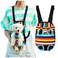Mačka Pas Prijevoznici & Travel Ruksaci Prednji ruksak Ljubimci Baskets Prijenosno Prozračnost Više boja Najlon Pamuk