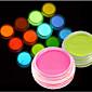 1 bottle Nail Art Dekorace drahokamu Pearls make-up Kosmetické Nail Art design