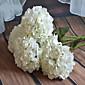 1 Větev Umělá hmota Hortenzie Květina na stůl Umělé květiny 20*20*65