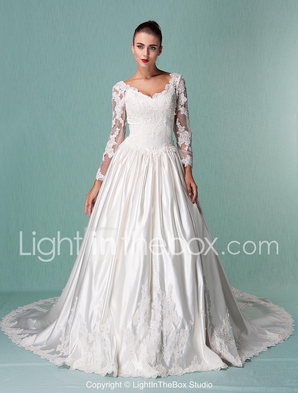 Petite- Wedding Dresses- Search LightInTheBox